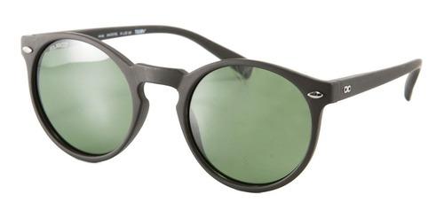 anteojos sol infinit tulum x negro mate lente verde medium