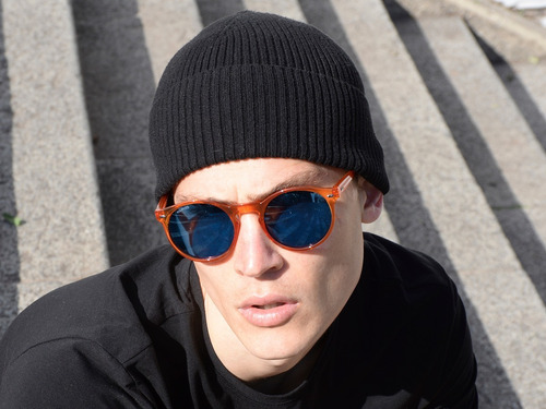 anteojos sol lentes infinit tulum x - caramel.blue.pol