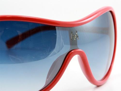 anteojos sol lentes melinda red - maja by infinit