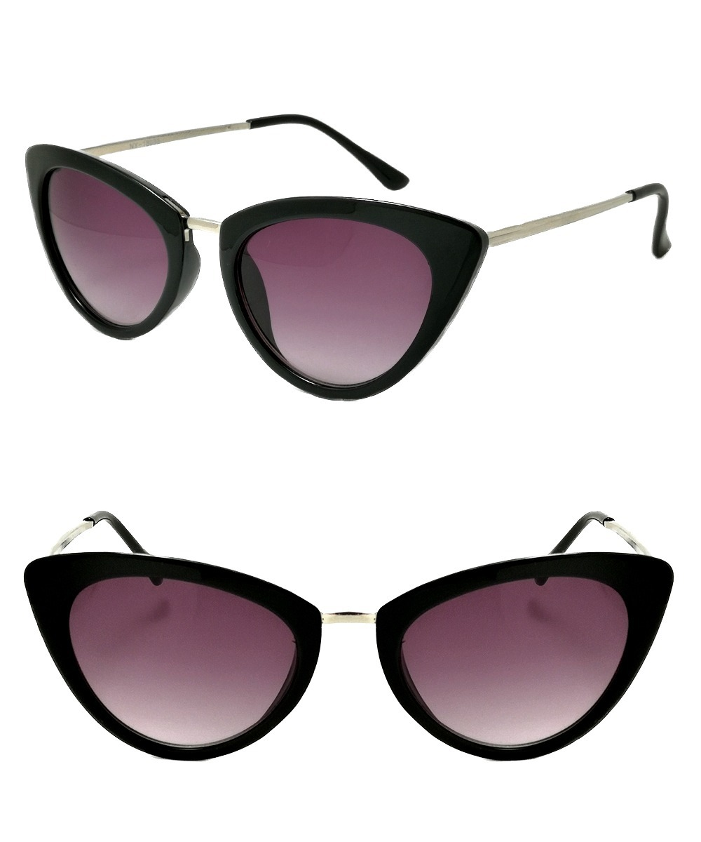 bf33f3171c Anteojos Sol Negros Estilo Cat Eye Lentes Pin Up Gatubela - $ 720,00 ...