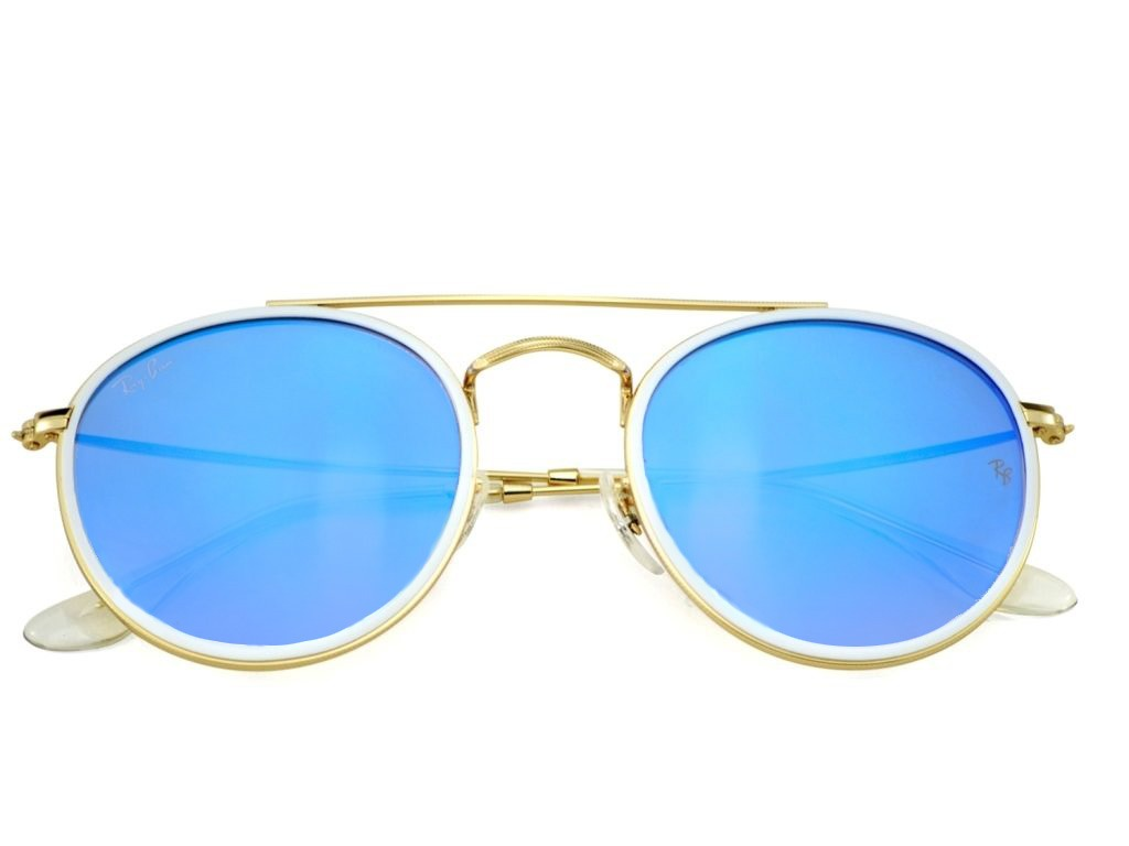 Anteojos De Sol Ray Ban Round Metal Double Bridge 3647n -   3.274,70 ... 0cb6a8d47a