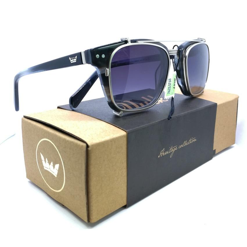 Anteojos Sol Vulk Julius Heritage Collection Gafas Clip On - $ 3.500 ...