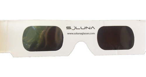 anteojos solares - lentes para observación de eclipses
