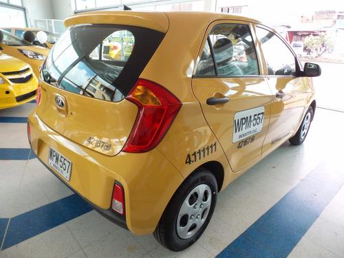 antes 122.000.000 ahora 118.000.000 taxi kia pìcanto 2017