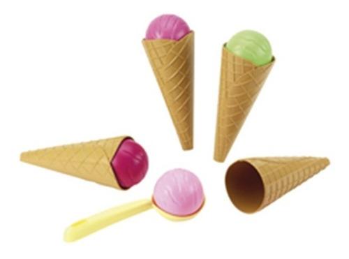 antex carrito de helados delicias canasto 22 piezas en cadia
