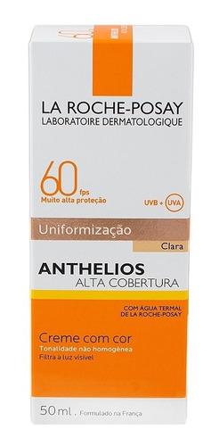 anthelios p.solar fps60 uniformização clara 40ml original