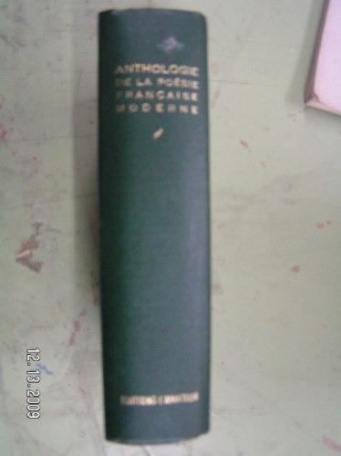 anthologie de la poesie francaise moderne - v. bastos