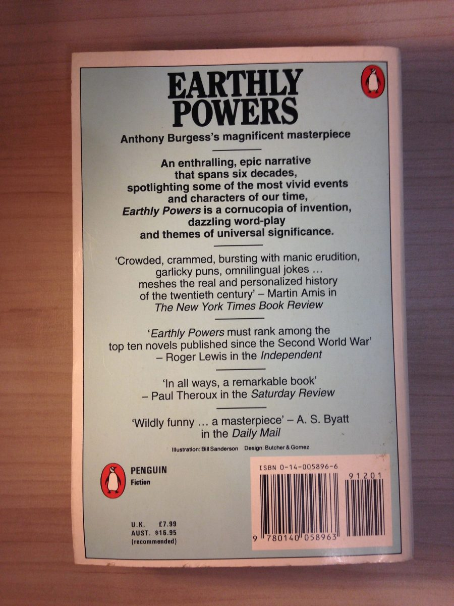 Anthony Burgess - Earthly Powers
