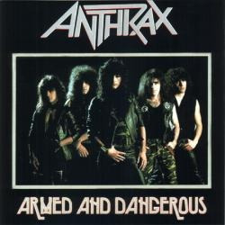 anthrax - armed and dangerous cd press u.s.a