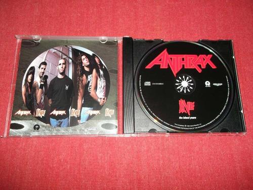 anthrax - live the island years cd imp ed 1994 mdisk