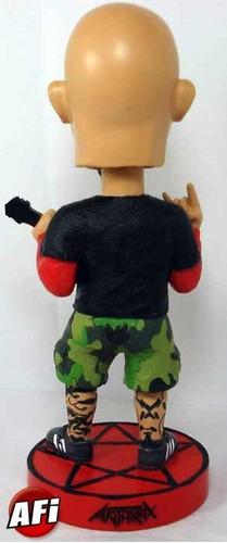 anthrax , scott ian bublehead figura  coleccion descontinuad