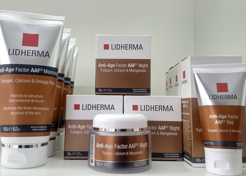 anti age factor night crema lidherma