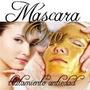 5 Mascara Facial Colageno,ac Hialuronico Y Oro 24 K