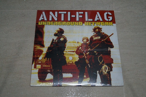 anti-flag underground network vinilo rock activity