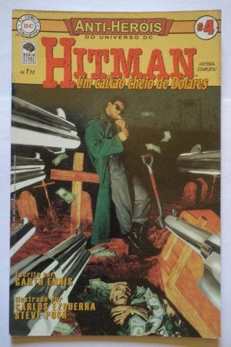 anti-heróis do universo dc nº 4 hitman