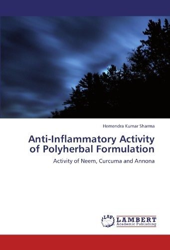 anti-inflammatory activity of polyherbal formul envío gratis