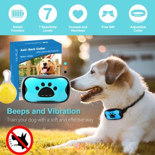 anti ladrido collar perro mascota