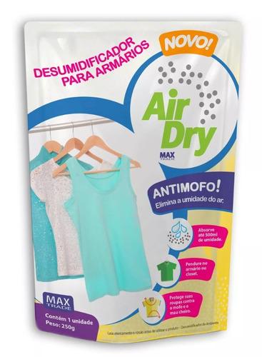 anti mofo e desumidificador de armários - caixa com 24 un