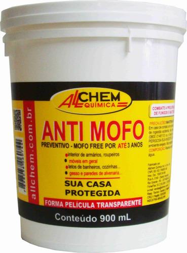 anti mofo preventivo 900ml sem mofo por até 3 anos - allchem