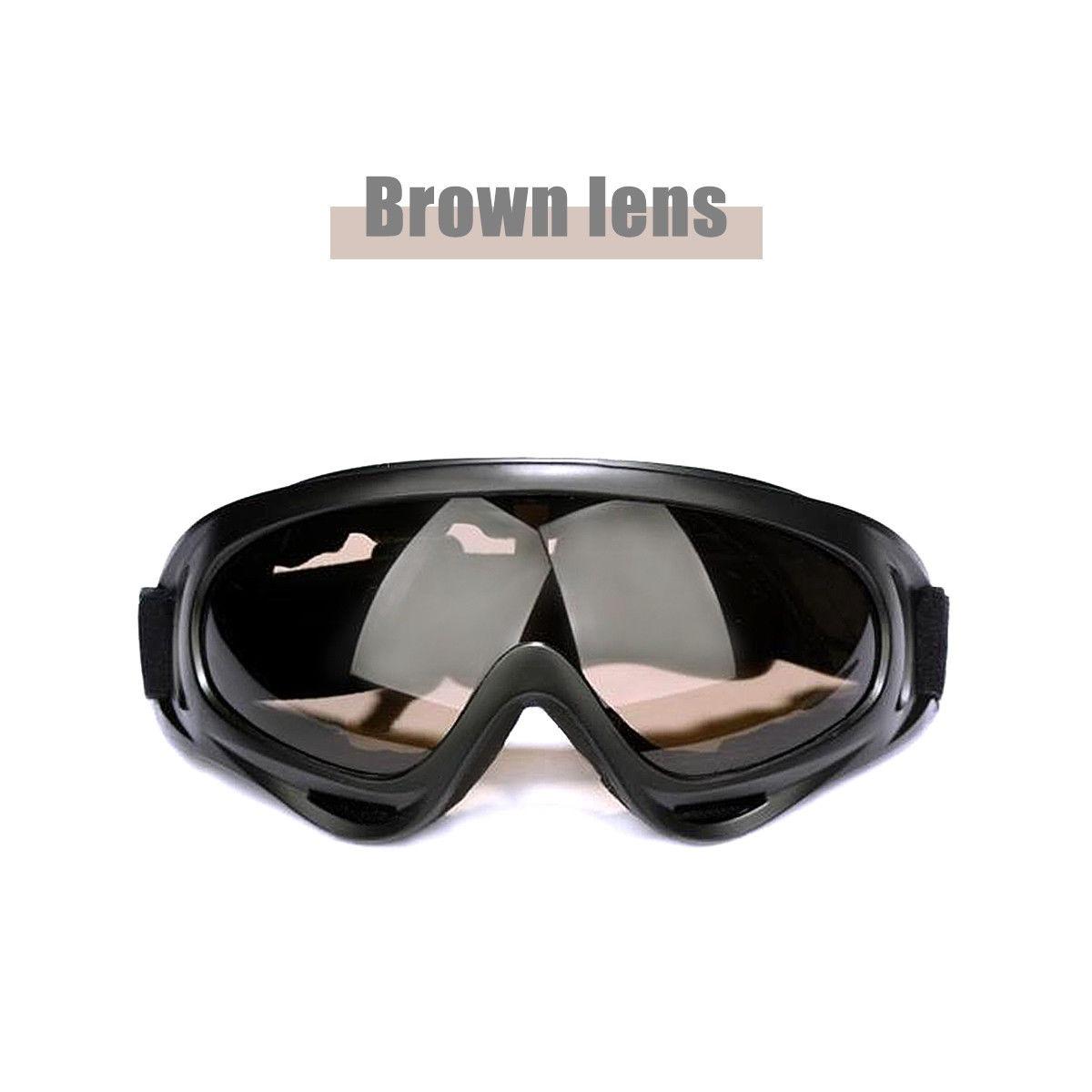3a5cb4b58cd Anti Niebla Nieve Esquí Gafas Hombres Lente... (brown) -   41.990 en ...