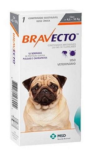 anti pulgas comprimido bravecto perro desde 4.5 hasta 10 kg