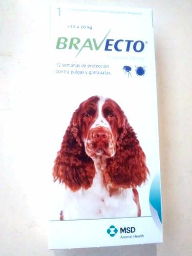 anti pulgas en comprimido bravecto perro hasta 20 kg