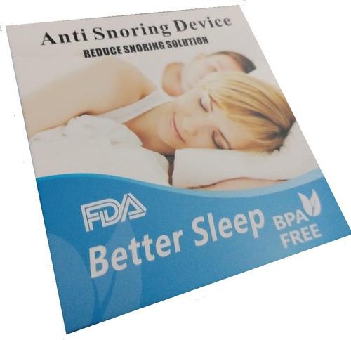 anti ronquido lingual + protector higiénico apnea obstructiv