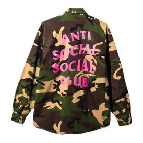 Anti Social Social Club Camisa (estilo Leñador)
