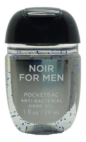 antibacterial hand gel bath & body works noir for men 29 ml