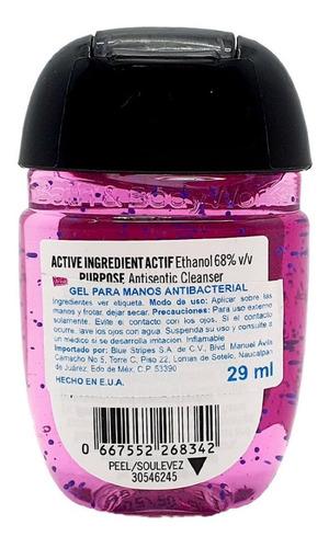 antibacterial hand gel bath & body works sweet pea 29 ml