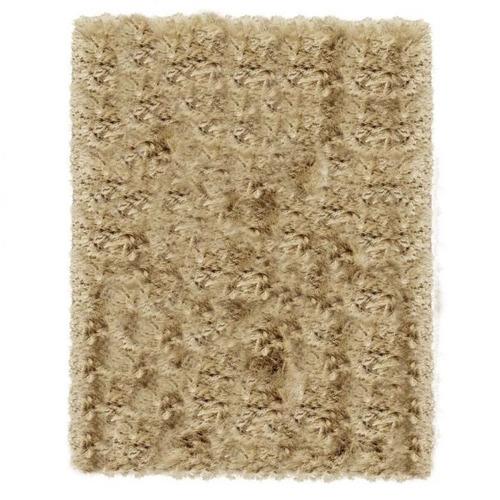 antiderrap+  shaggy prevenda joy duna bege 3.5x2.5m são carl