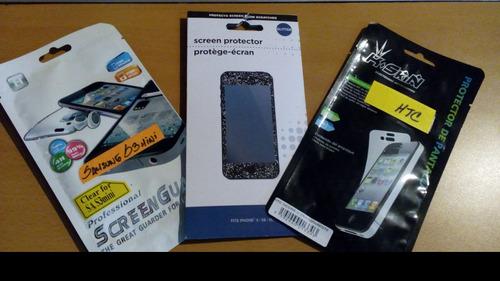 antiespias y protectores de pantalla para iphone 4,5,6
