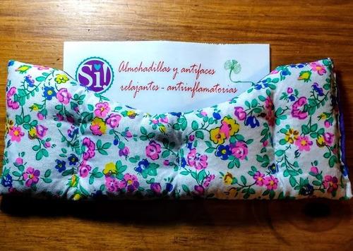 antifaces antinflamatorios c/semillas y flores de lavanda