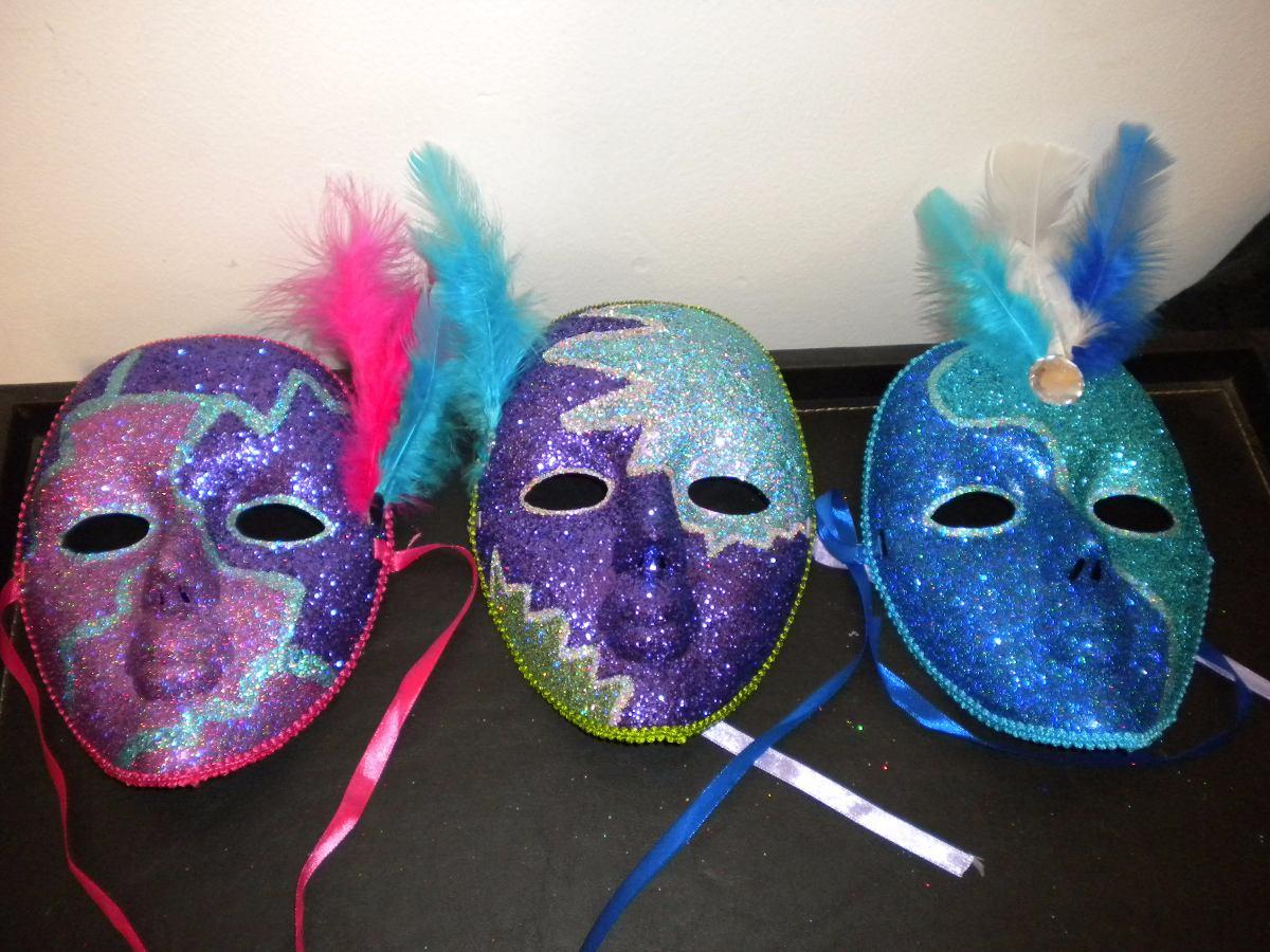 Antifaces Y Mascaras Venecianas - Carnaval Carioca - $ 990,00 en ...