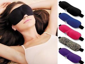 antifaz 3d mascara dormir blackout concavo descansar viaje s