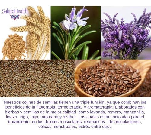 antifaz de semillas terapéutico relajante 1pza
