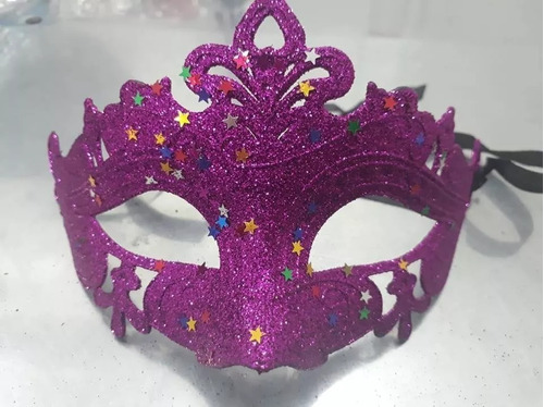 antifaz mascara dizfraz estrella carnaval x1 pcs.entrega ya!