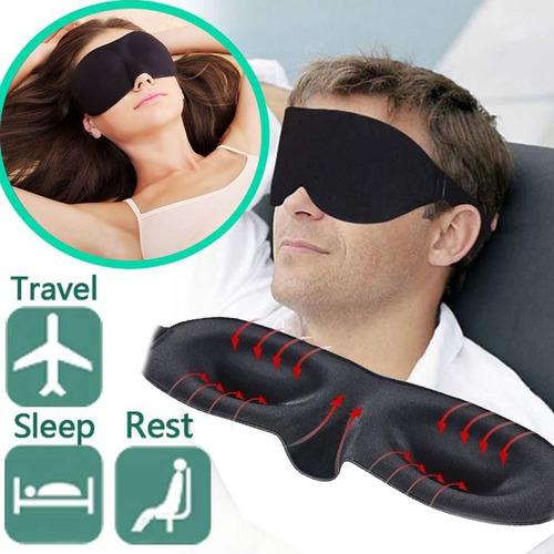 antifaz / máscara para dormir 3d eye blinder sleeping