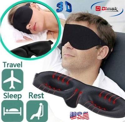 antifaz mascarilla para dormir profundo ¨3d sleeping mask¨