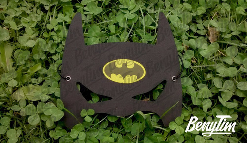 antifaz souvenir mascara infantil super heroes goma eva x20