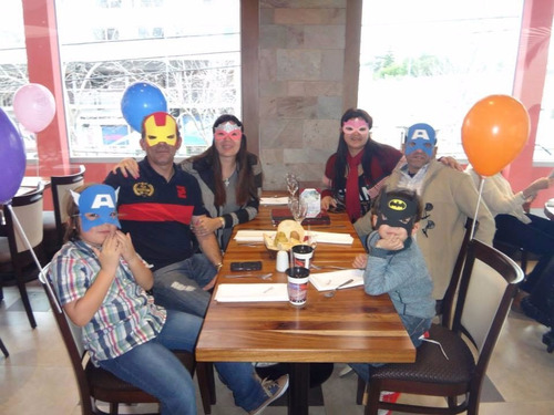 antifaz souvenir mascaras caretas goma eva superhéroes x20