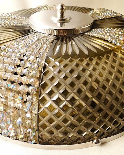 antig plafond frances bronce cincelado globo vidrio tallado