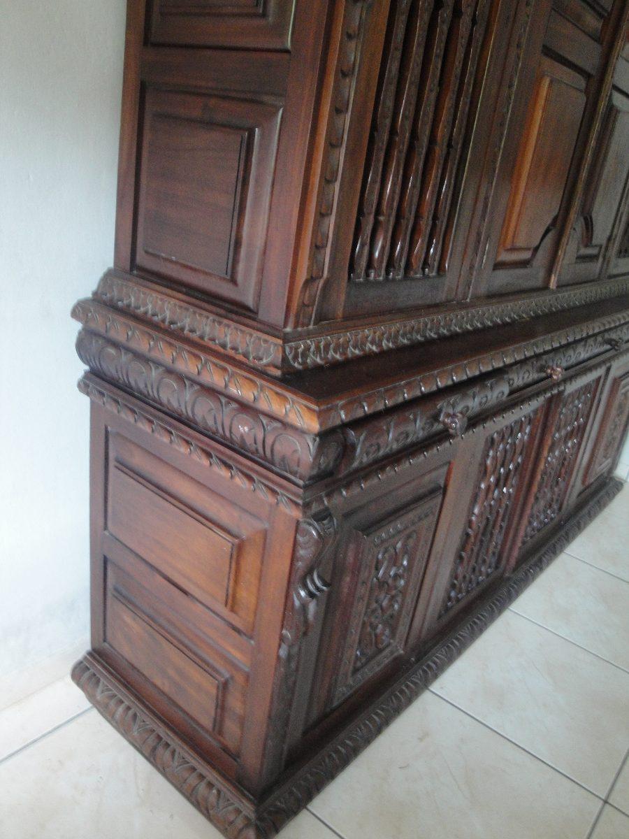 Armario Mdf Provençal ~ Antiga Arca Armário Em Madeira De Lei Entalhada u00c0 M u00e3o R$ 4 000,00 em Mercado Livre