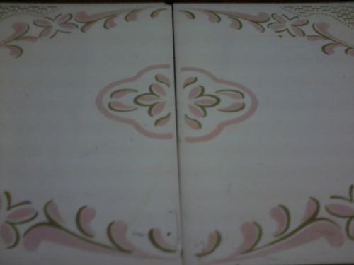 antiga bandeja madeira azulejo
