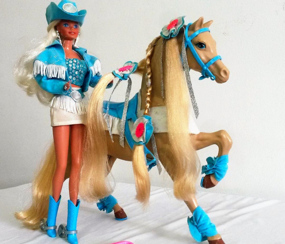 Antiga barbie country cavalo estrela mattel anos 90 r for Piscinas toy