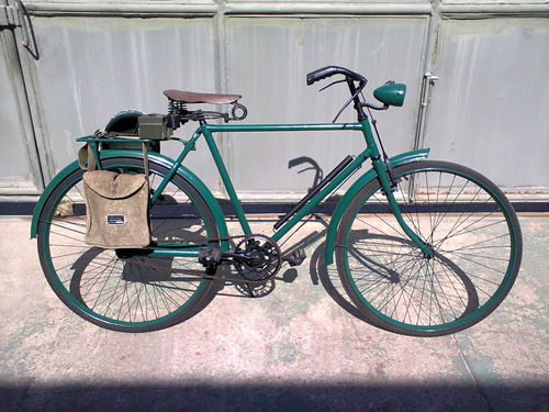 antiga bicicleta phillips militarizada déc.50, masculina..