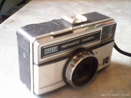 antiga camera fotografica kodak instamatic 177xf (linda )