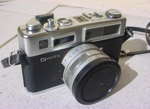 antiga - camera fotográfica yashica electro 35 gsn.