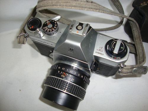 antiga camera pentax spotmatic sp f