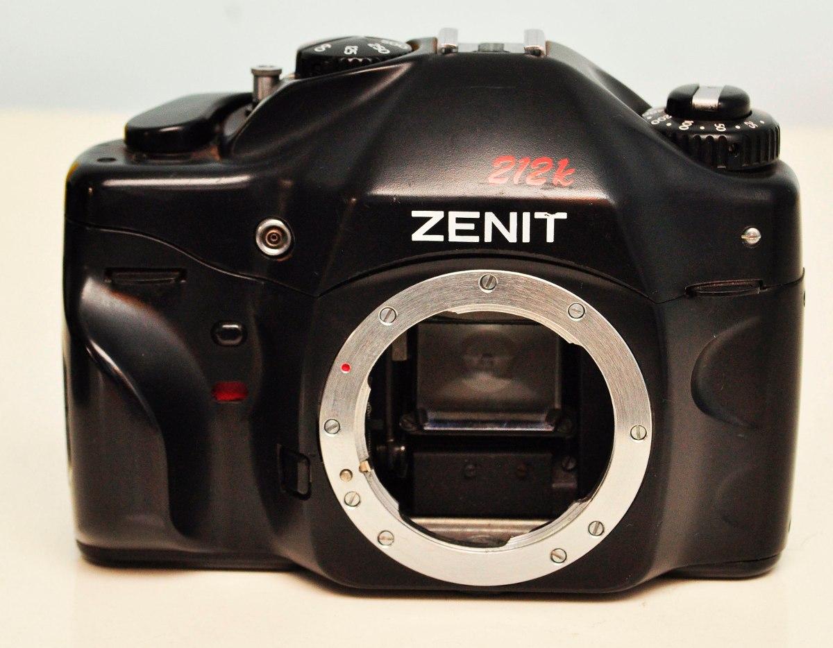 90564c37c Antiga Camera Zenit 212k Analogica 35mm Pentax - K Perfeita - R  190 ...